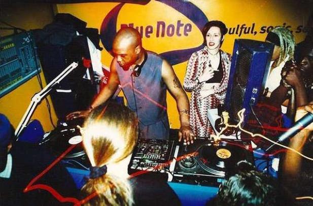 Grooverider & DJ Storm_Metalheadz_Blue Note