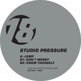 Studio Pressure | Jump | Certificate 18 | Cert1803 | ID774