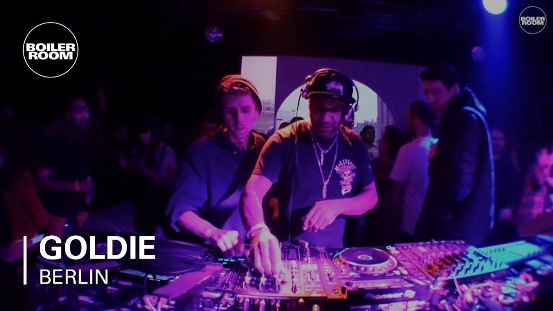 Goldie x Boilerroom x Berlin x Rave 90 DJ Mix